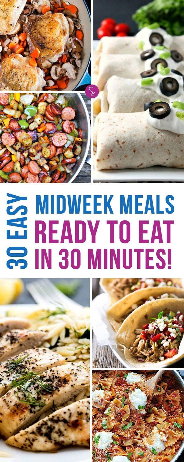 One whole month's worth of deliciously simple midweek meals the whole family will love. Prepped and on the table in 30 minutes or less!