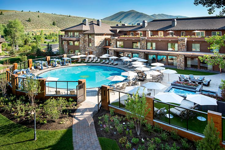 Sun Valley Lodge, a classic family-friendly hotel in Sun Valley, Idaho.