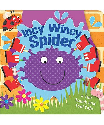 Touch and Feel Incy Wincy Spider