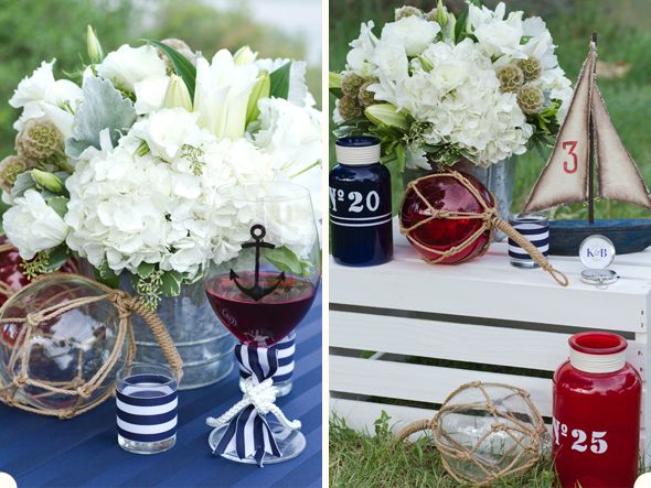 Table Setting Ideas For A Nautical Themed Wedding