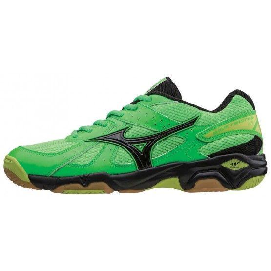 Mizuno Twister 4 cipő unisex zöld