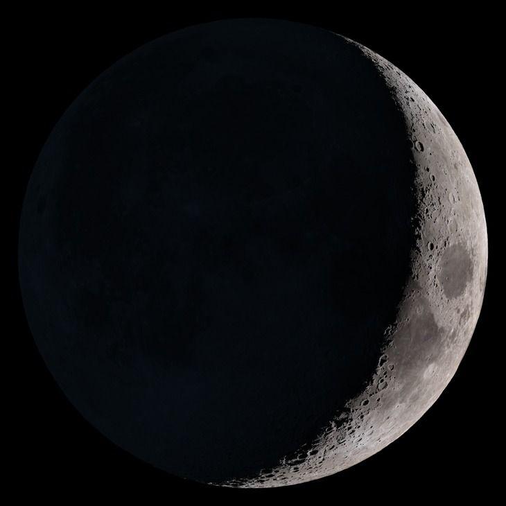 Estado de la Luna hoy Sábado 29 Abril 2017 Luna Creciente