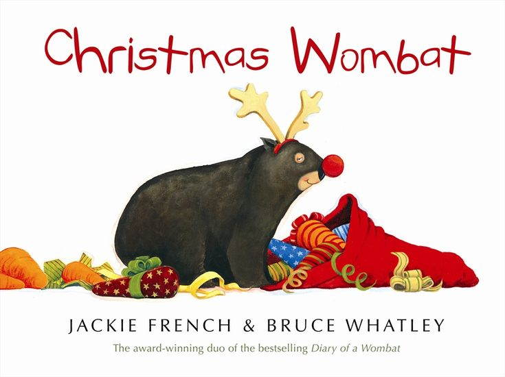 Christmas Wombat by Jackie French and Bruce Whatley