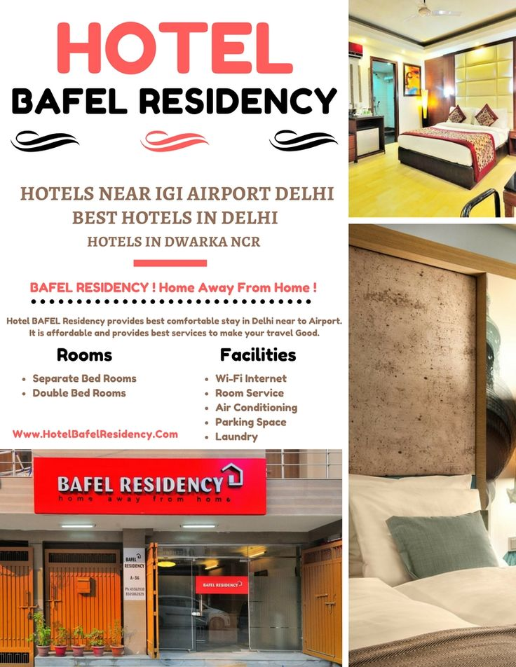 Wondering Where To Stay In Dwarka Near Igi International And Palam Domestic Airport Bafel Residency Is An Award Winning Luxury Hotel West Delhi