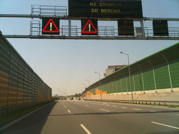 Highway from Warsaw to Berlin opened just before the tournament