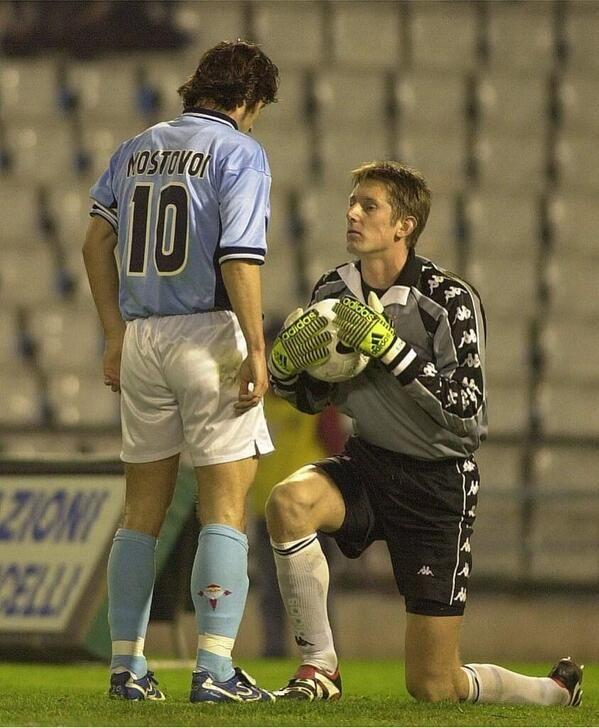 Celta de Vigo 4 - Juventus 0 Mostovoi & Van der Sar
