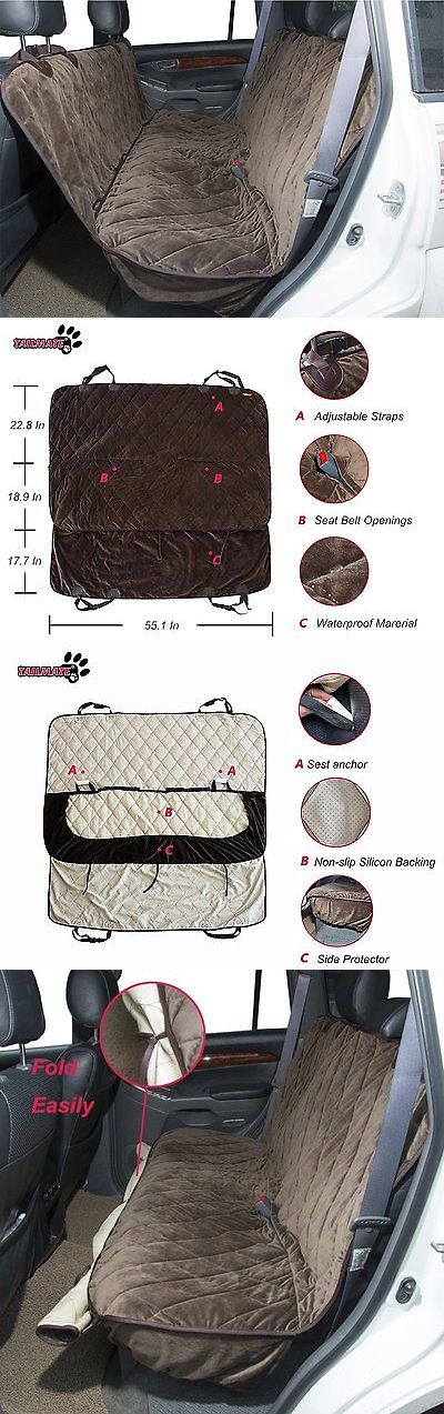 Car Seat Covers 117426: Tailmate Pet Car Seat Cover, Quilted Waterproof And Non-Slip Backing Hammock With -> BUY IT NOW ONLY: $69.95 on eBay!