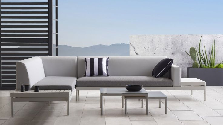 Home :: Outdoor :: Outdoor Lounges :: Lounge Settings :: Airlie Modular Bench Sofa Package