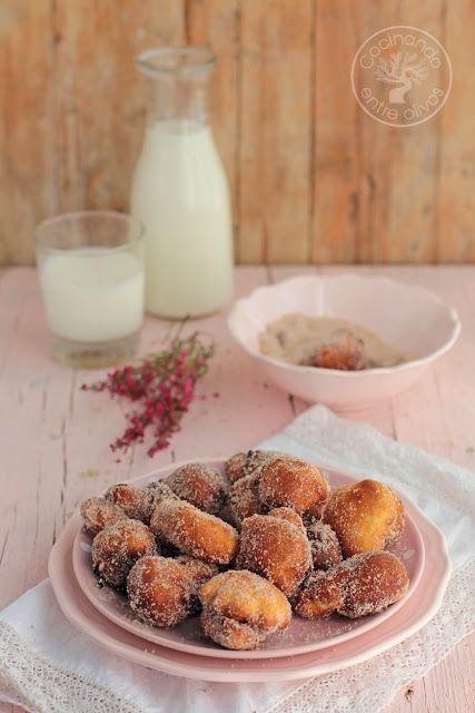 Cocinando entre Olivos: Papajotes dulces de Jaén. Receta paso a paso