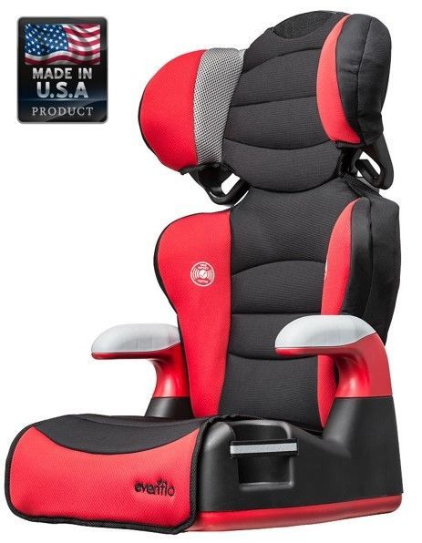 Baby Car Seat Red Toddler Safety Adjustable Booster 30 To 110 lbs 2 Seats In 1 #BabyCarSeat
