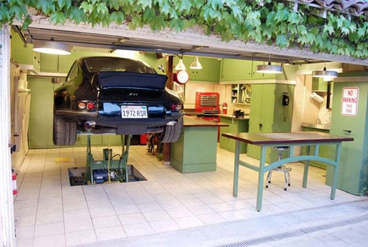 Ultimate Garage: The 7 Most Extreme Man Caves - DIY Garage - Popular Mechanics