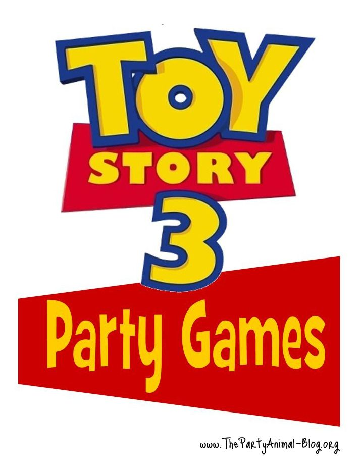 Toy Story 3 Party Games