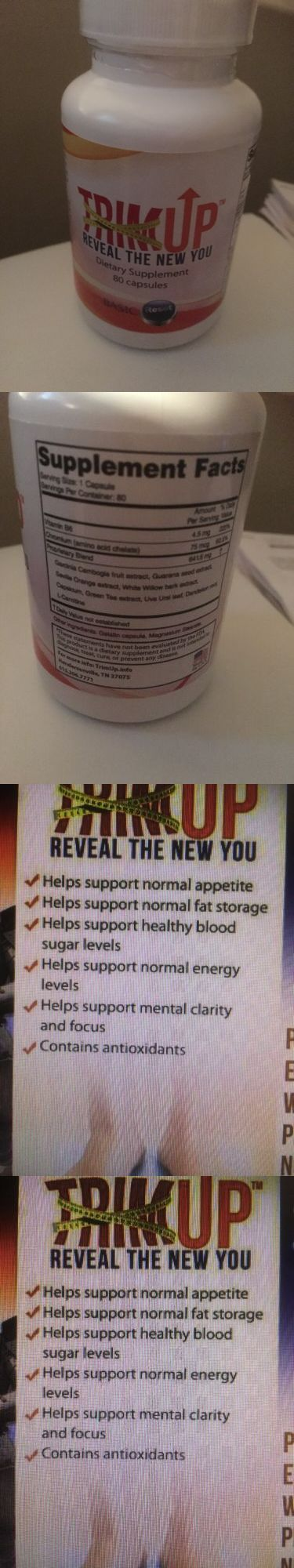 Appetite Control Suppressants: Dietary Supplement Trim Up Basic Reset 80 Capsules BUY IT NOW ONLY: $40.0