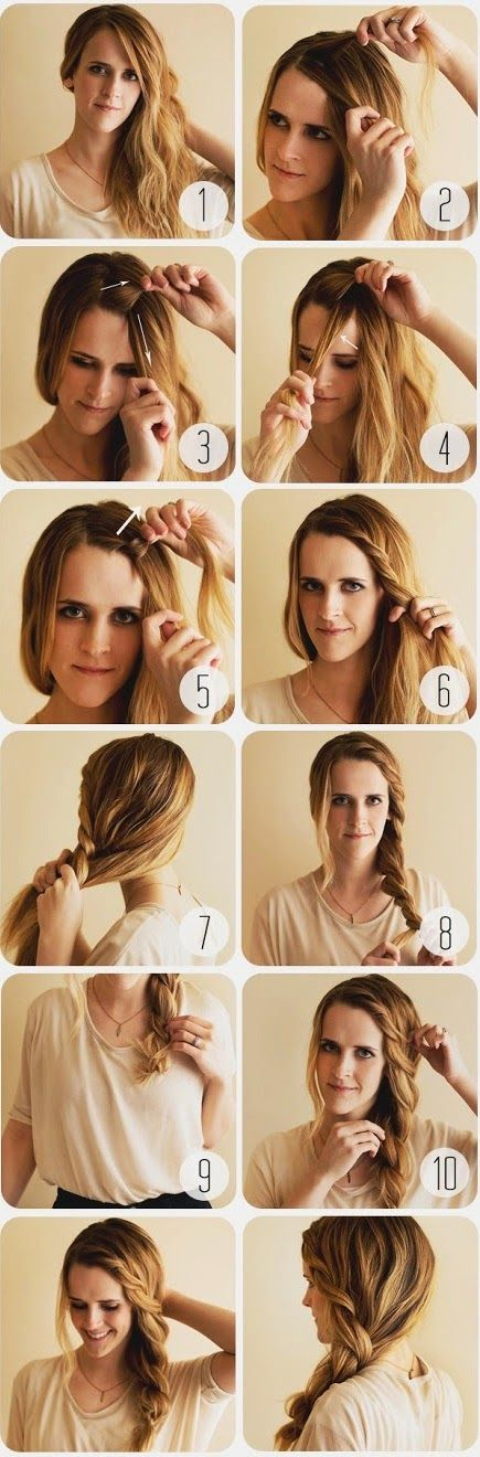 mejores 33 imágenes de peinados con trenzas en pinterest | youtube