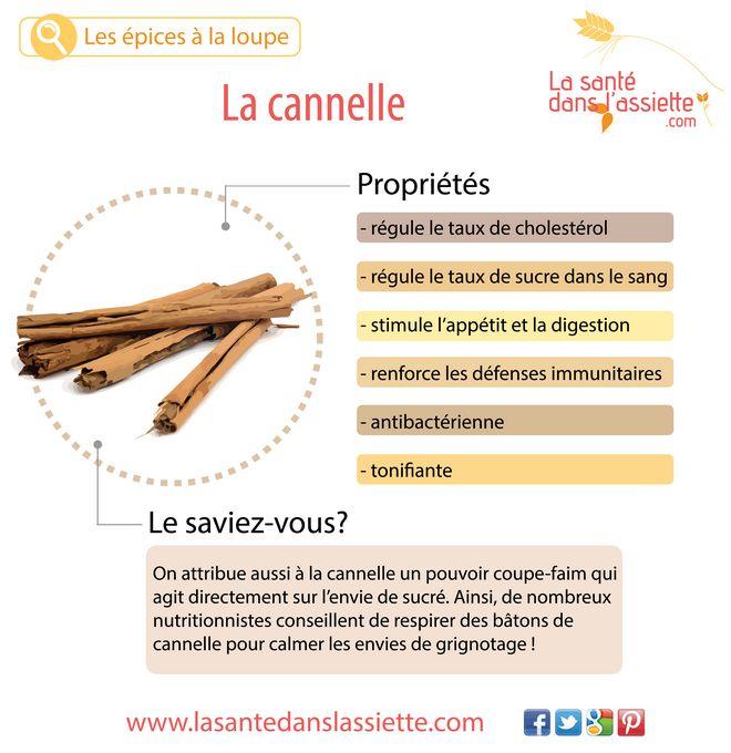 cannelle_propriétés