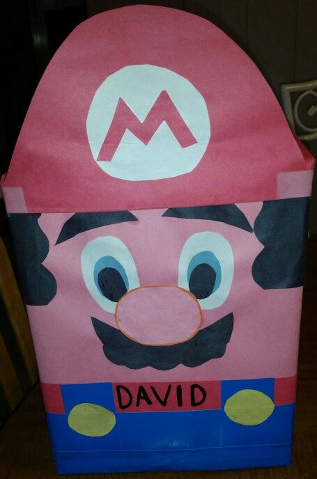 Davidu0027s Valentineu0027s Mail Box Kindergarten Mario ...