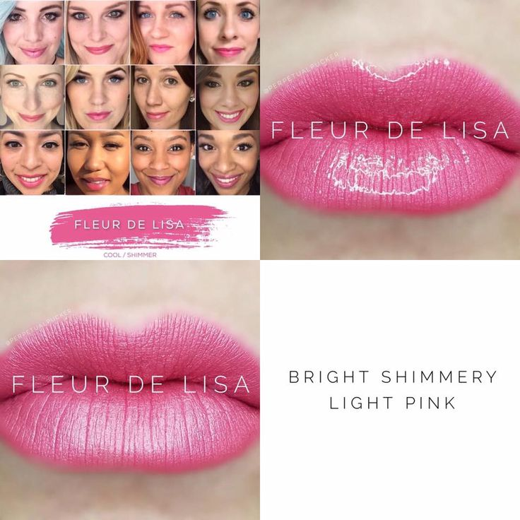 Fleur de Lisa LipSense - a bright shimmery light pink lip color with a hint of lavender. This is a discontinued LipSense color that is being brought back in to the permanent lineup! (www.lastinglipsbylindsay.com or @lastinglips_by_lindsay on instagram) lipsense | glossy gloss | senegence | lipstick | lips | makeup | long lasting lipstick | smudge proof lipstick | lipsense distributor | waterproof lipstick | Beige Champagne | Bella | Praline Rose | Apple Cider | Pink Champagne | Plum…