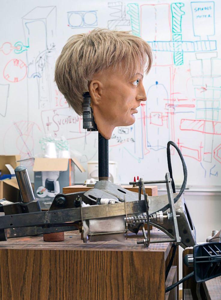 Thomas Struth: robotic head, at the NASAJet Propulsion Laboratory