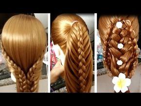 Peinados Para Niñas 2017/Peinados para cabello/Como Hacer Peinados Faciles rapidos/Trenzas Faciles52 - YouTube