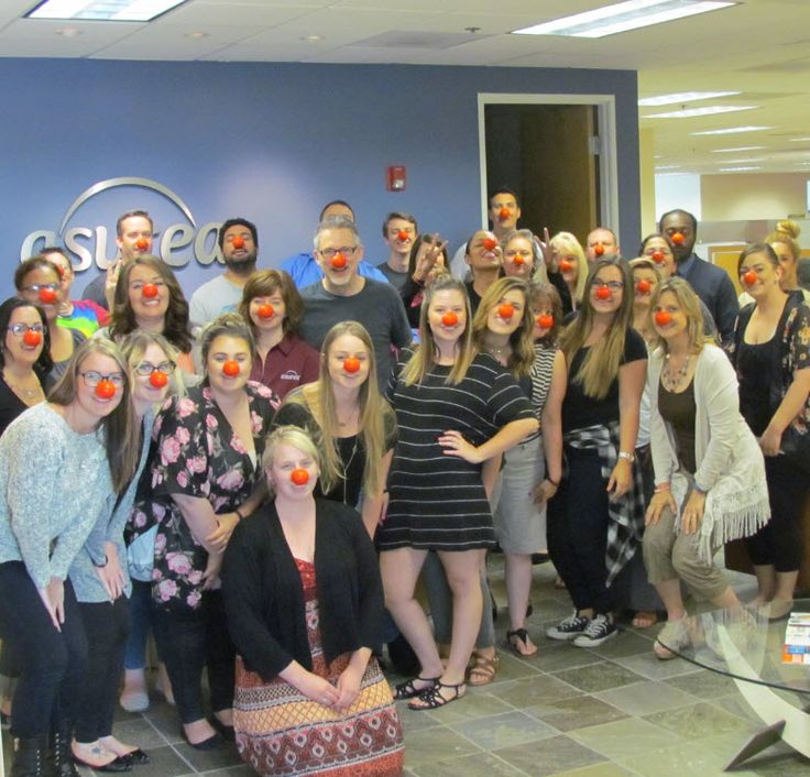 Red Nose Day 2016! Sometimes we are a little silly here at Asurea. https://www.asurea.com/red-noses-to-help-kids