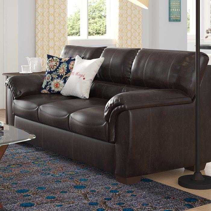 Red Barrel Studio Bourne Simmons Sleeper Reviews Wayfair Faux Leather Sofa Leather Sofa Bed Sofa