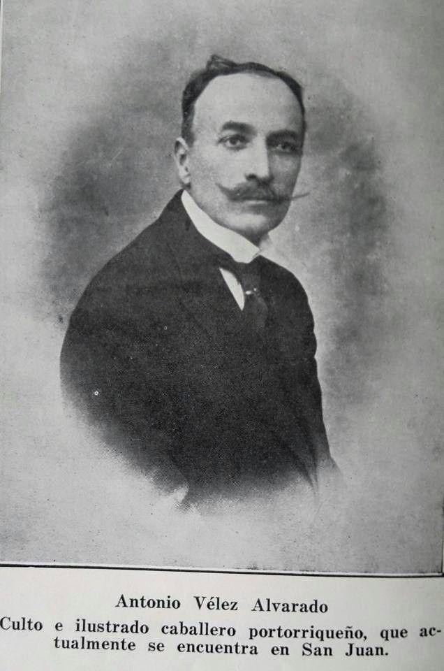 Antonio Vélez Alvarado, creador de la bandera puertorriqueña.