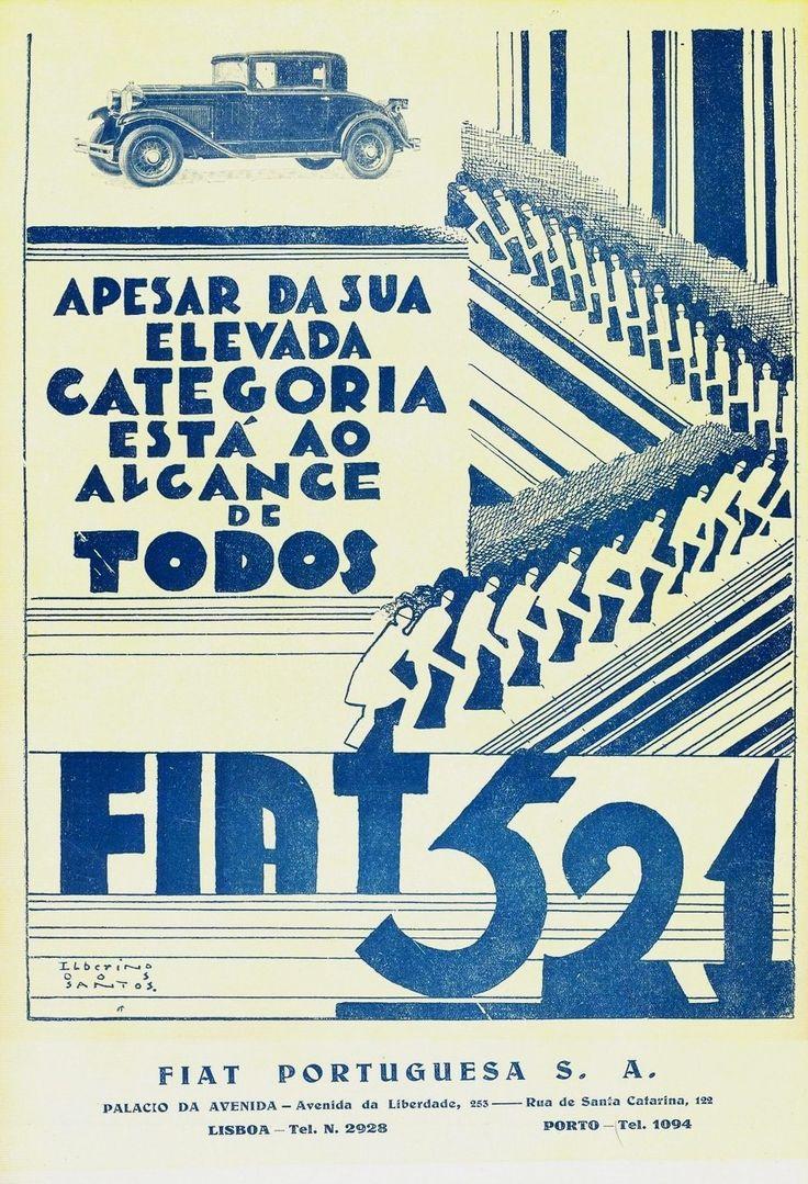 Fiat 521, 1931 Portugal