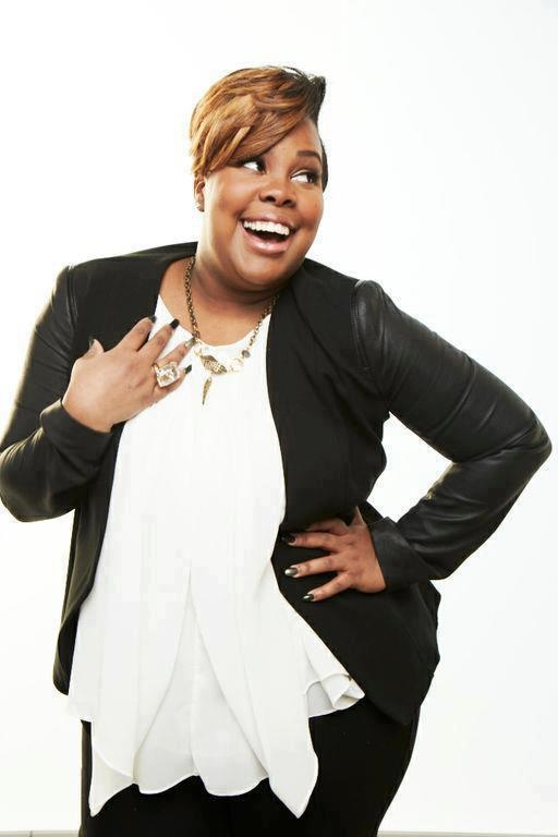 Amber Riley singer/actress from GLEE...absolutely gorgeous!