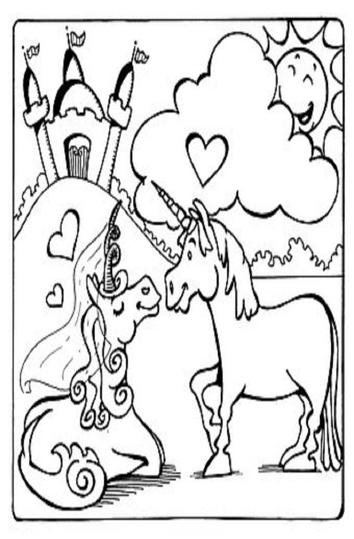 At Least Unicorns Love Me Unicorn Coloring Pages Love Coloring Pages Coloring Pages