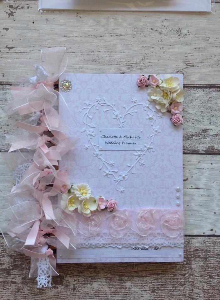Beautiful HANDCRAFTED wedding planner book journal keepsake in luxury presentation box. by xHeavenlyCraftsx on Etsy https://www.etsy.com/listing/241718632/beautiful-handcrafted-wedding-planner