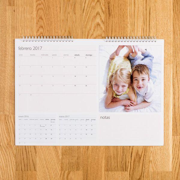 Calendario A3 sobremesa PERSONALIZADO
