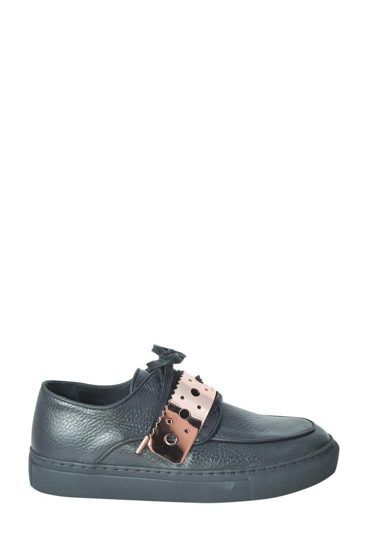 Eugene Riconneaus black sneaker Sz 37
