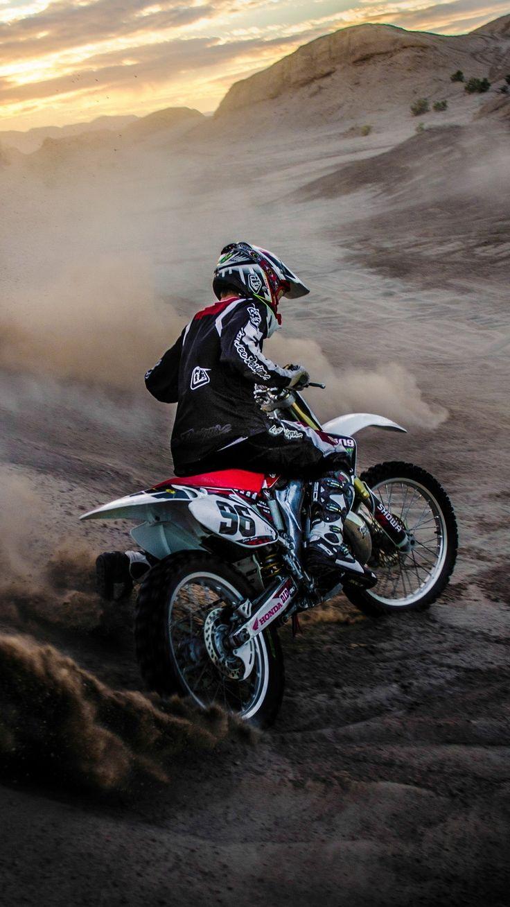 MotocrossMuddingiPhoneWallpaper Motorcycle wallpaper
