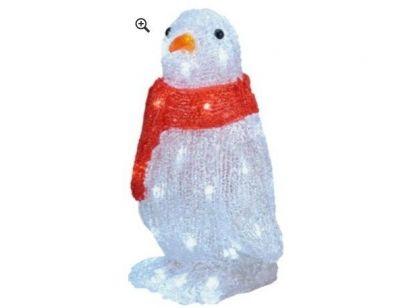 Świąteczny Pingwin. Wykonany z kryształu akrylowego.Wymiary: Wysokość: 30cm, Szerokość: 21cm,  Głębokość: 16cm.  Więcej na http://tetex.pl/oferta,swiateczny-pingwin,4e44637a.html