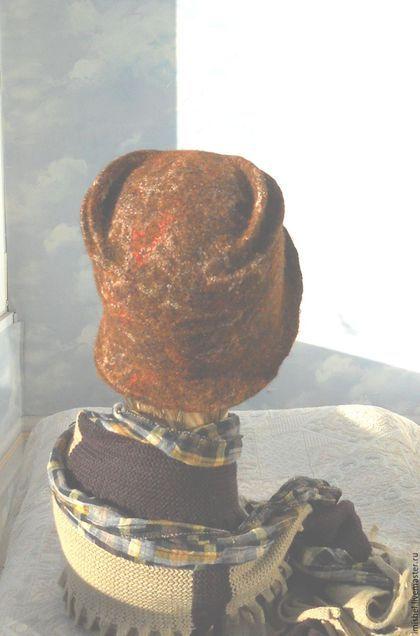 """Шляпы ручной работы. шляпка """"Осень"""". ZIMa    (Ирина)          FeltHouse. Ярмарка Мастеров. Шляпки валяные, осенние мотивы"""