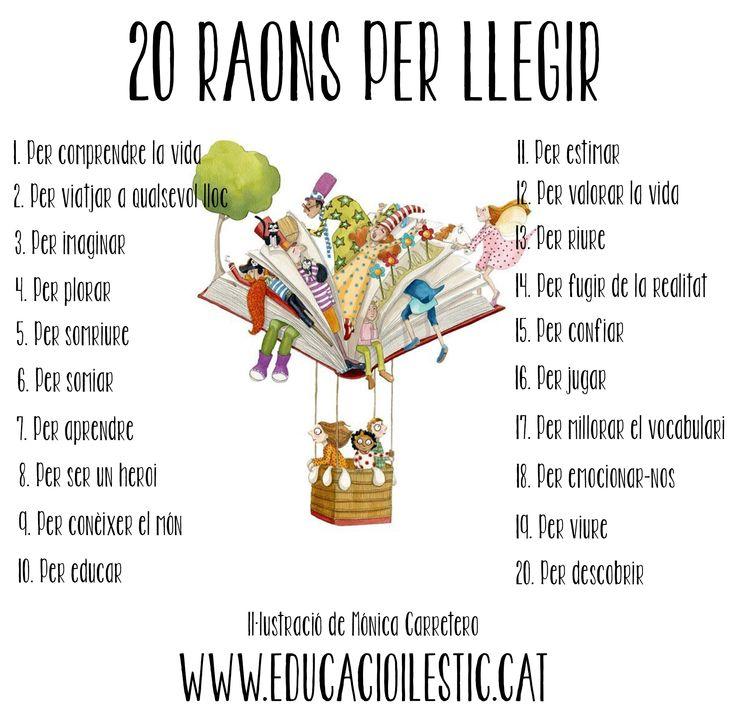 20 raons per llegir