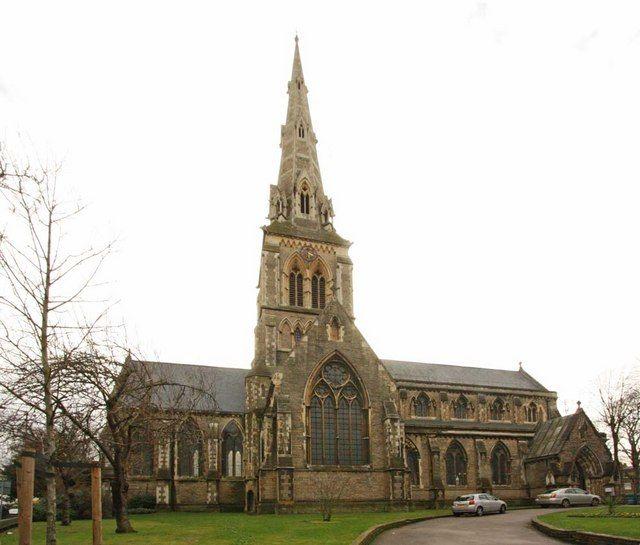 St Giles Camberwell, London