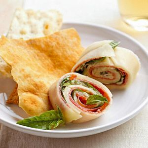 Antipasto Pinwheels Recipe | Food Recipes - Yahoo! Shine