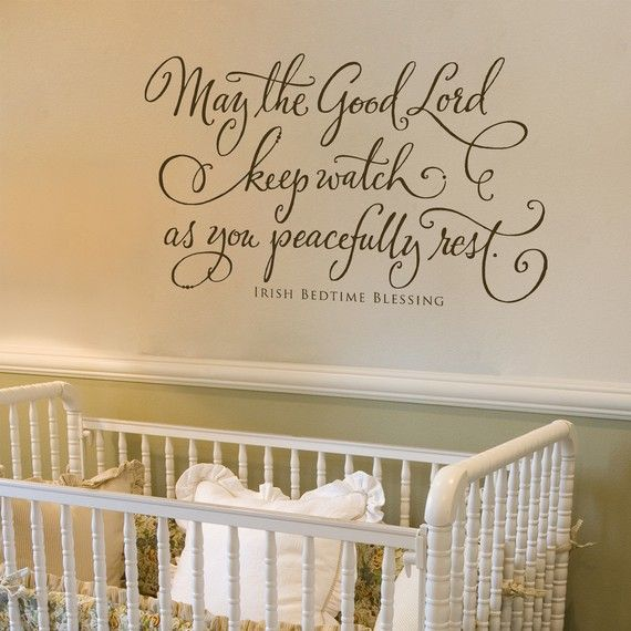 Best Bible Verse Wall Decorations Images On Pinterest Wall - Nursery wall decals ireland