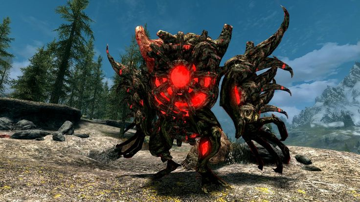 Lurchers and Briarheart Trees- Mihail Monsters and Animals (SSE)(Mihail immersive add-ons - ESO -Forsworn) at Skyrim Special Edition Nexus - Mods and Community