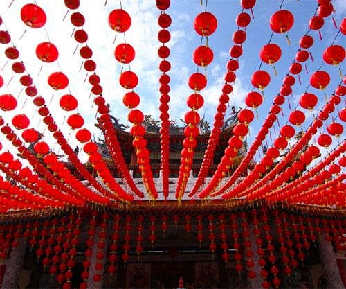 lanterne rosse