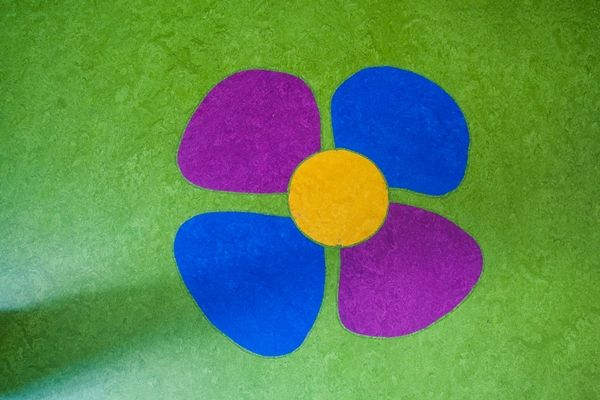 Detaliu :) Linoleum natural Forbo