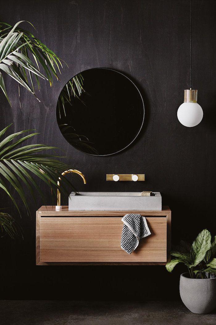 Badideen Beliebte Badezimmer Trends Archzine Net Badezimmer Trends Schwarze Wand Bader Ideen