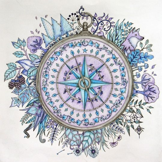 Johanna Basford | Picture by ChantalB | Colouring Gallery