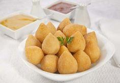 Mini coxinhas de frango | Pães e salgados > Receitas de Coxinha | Receitas Gshow
