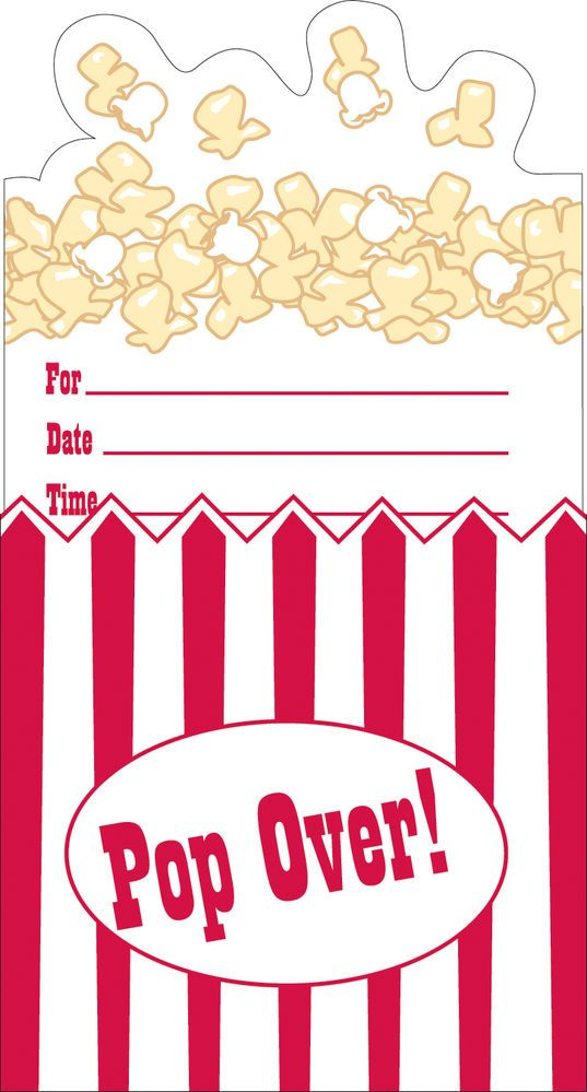 Best 25 Movie Party Invitations ideas – Cinema Party Invitations