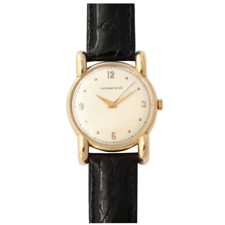 Tiffany & Co Strap Watch | From a unique collection of vintage wrist watches at https://www.1stdibs.com/jewelry/watches/wrist-watches/