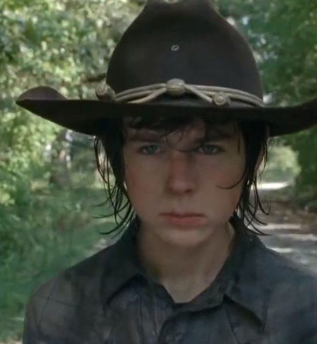 """I got Carl Grimes! Which """"The Walking Dead"""" Character Would You Survive The Apocalypse With? I LOVE HIM!!!!!!!!!!"""