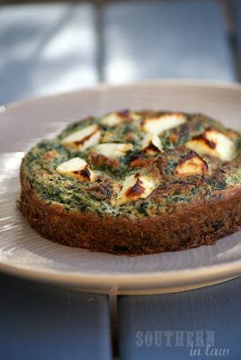 Southern In-Law - An Australian Healthy Living Blog: Recipe: Spinach and Feta Bake