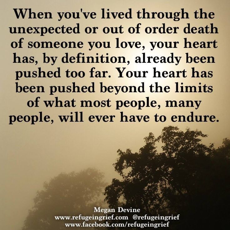 So true. Love you and the pain never leaves me. After 12 years.